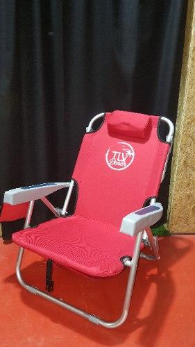 כיסא גב מתכוונן אלומיניום TLV