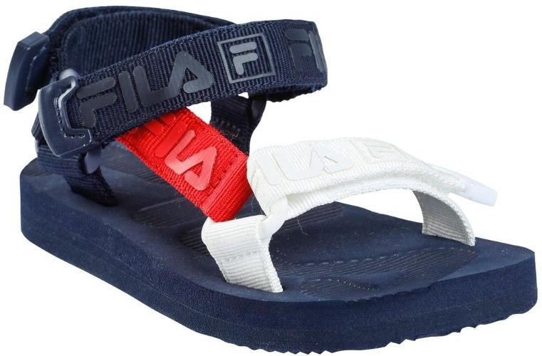סנדל כחול משולב אדום לבן (FILA (24-32