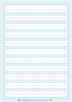 Broken Line Notebook