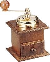 מטחנת קפה איטלקית מסורתית, ידנית, מעץ