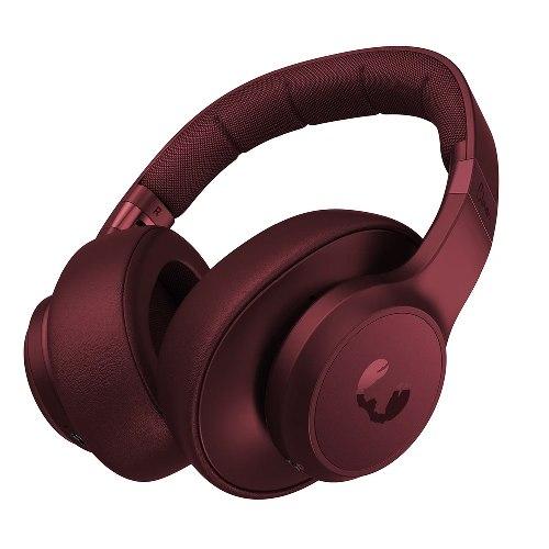 אוזניות אלחוטיות Clam-Wireless over-ear headphones-Ruby Red