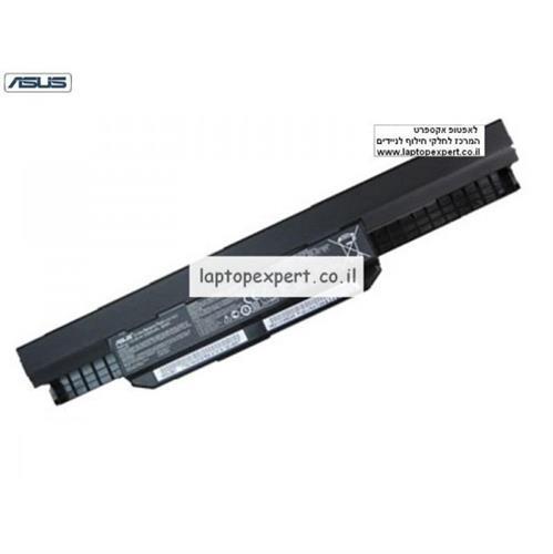 סוללה מקורית 6 תאים למחשב אסוס Asus ASUS K54 K54C K54H K54HR K54HY K54L Laptop A41-K53