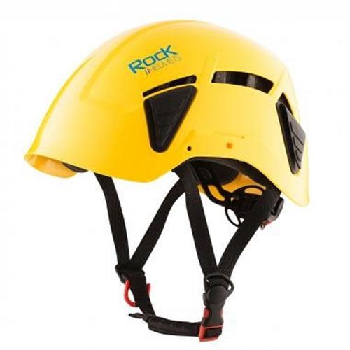 קסדה לעבודה בגובה Rock DYNAMO -צהוב