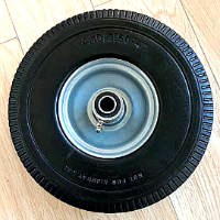 גלגל גומי מלא לעגלות משא אלומיניום דו ותלת מצבי