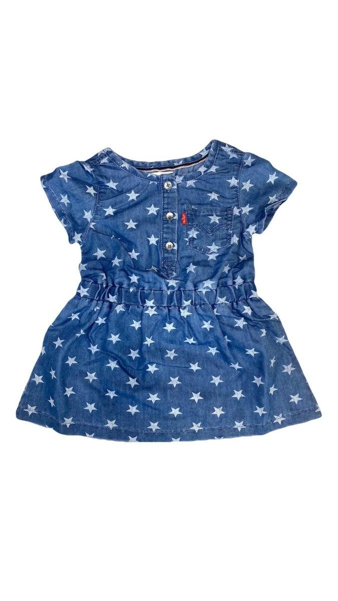 שמלת ג'ינס כוכבים LEVIS