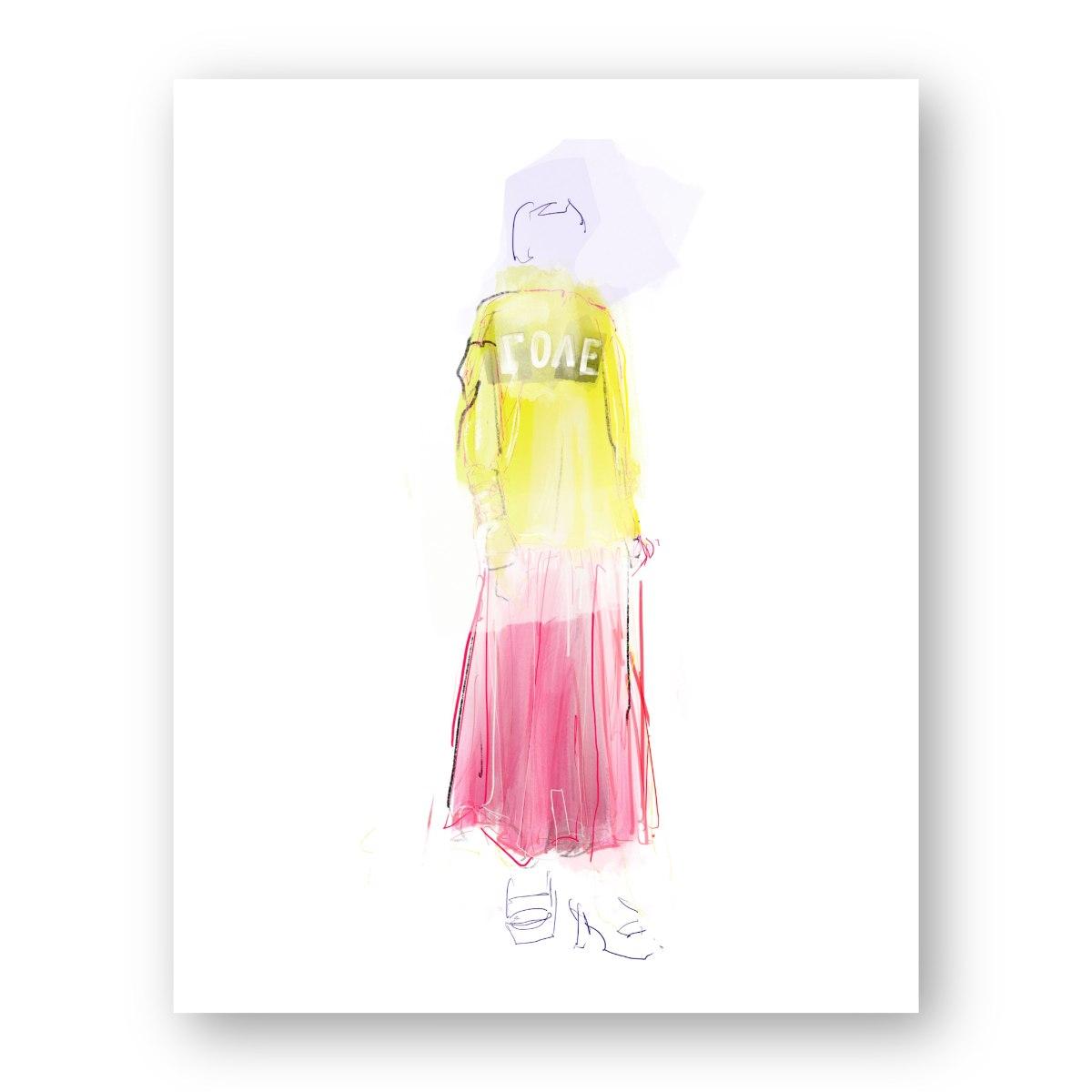 איור אופנה #24