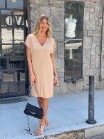 שמלת נויה- בז' THOMAS