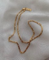 שרשרת פיגרו קצרה זהב 14 קראט S