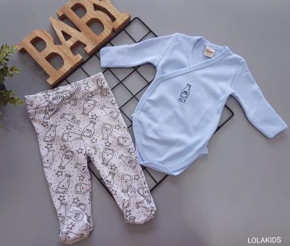 מארז בגד גוף מעטפת+מכנס רגליות דגם 3