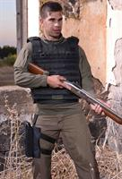 Tactical bulletproof vest with molle