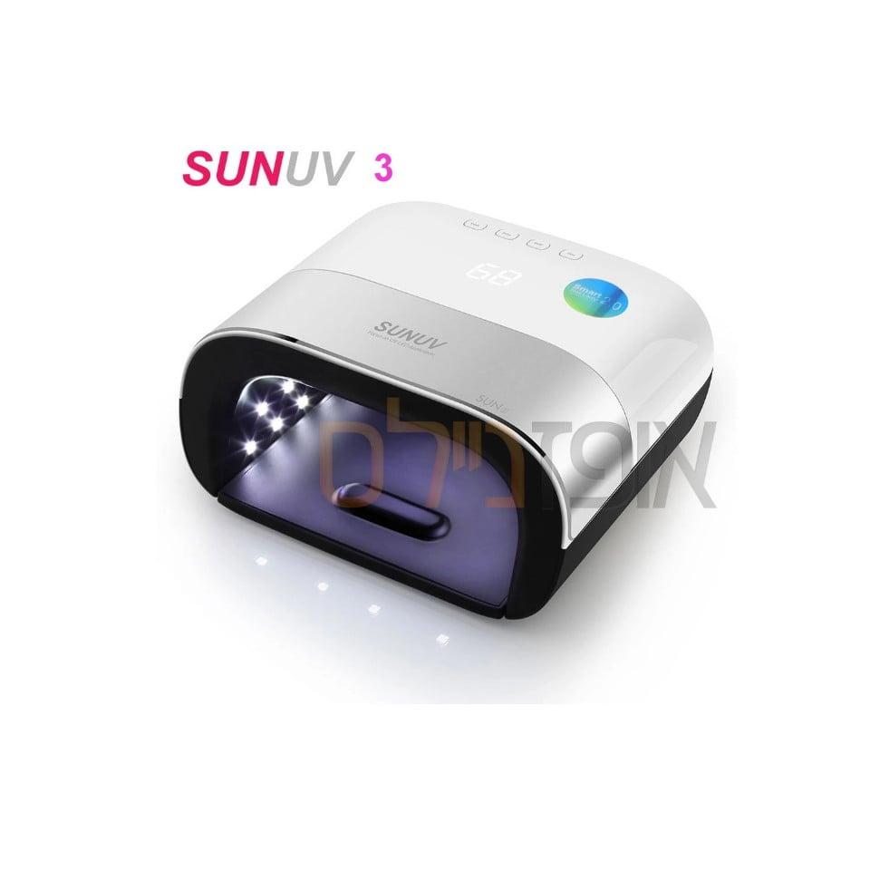 מנורה משולבת 48 ואט Sun 3 UV/LED