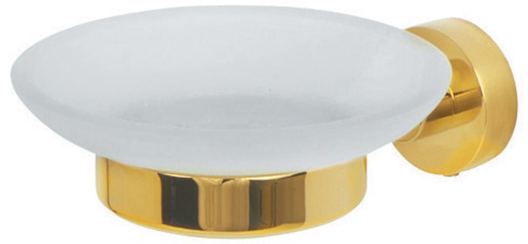 מחזיק סבוניה זכוכית מסדרת CL זהב