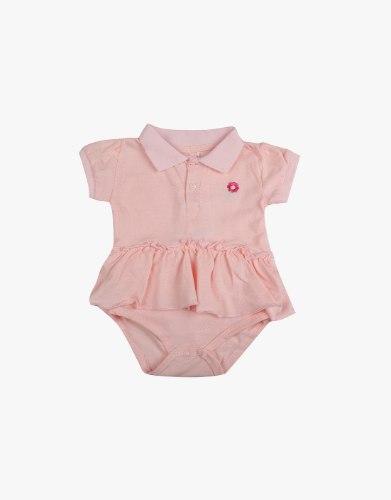 אוברול תינוקות פולו פרח
