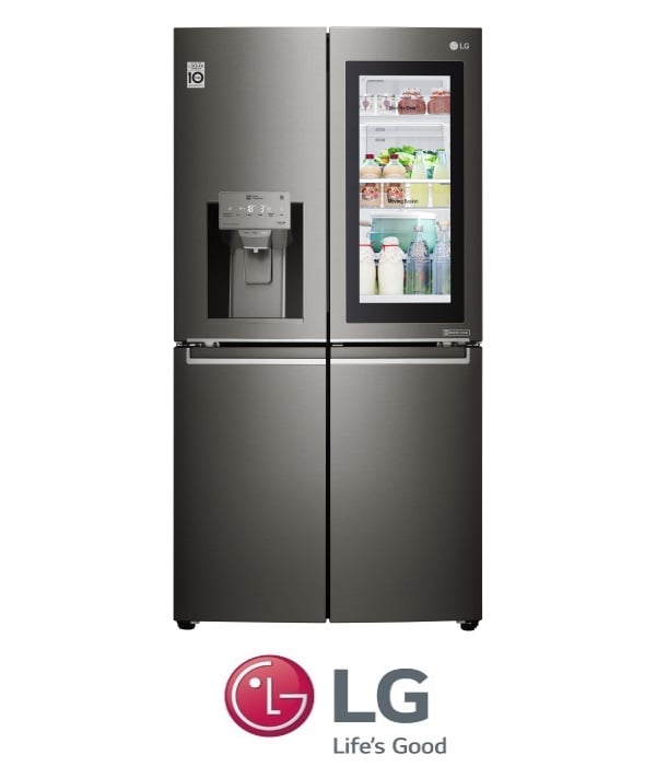 LG מקרר 4 דלתות InstaView Door in Door דגם GRX710INS