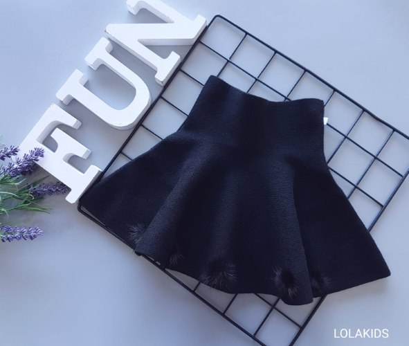 חצאית סריג דגם 7038