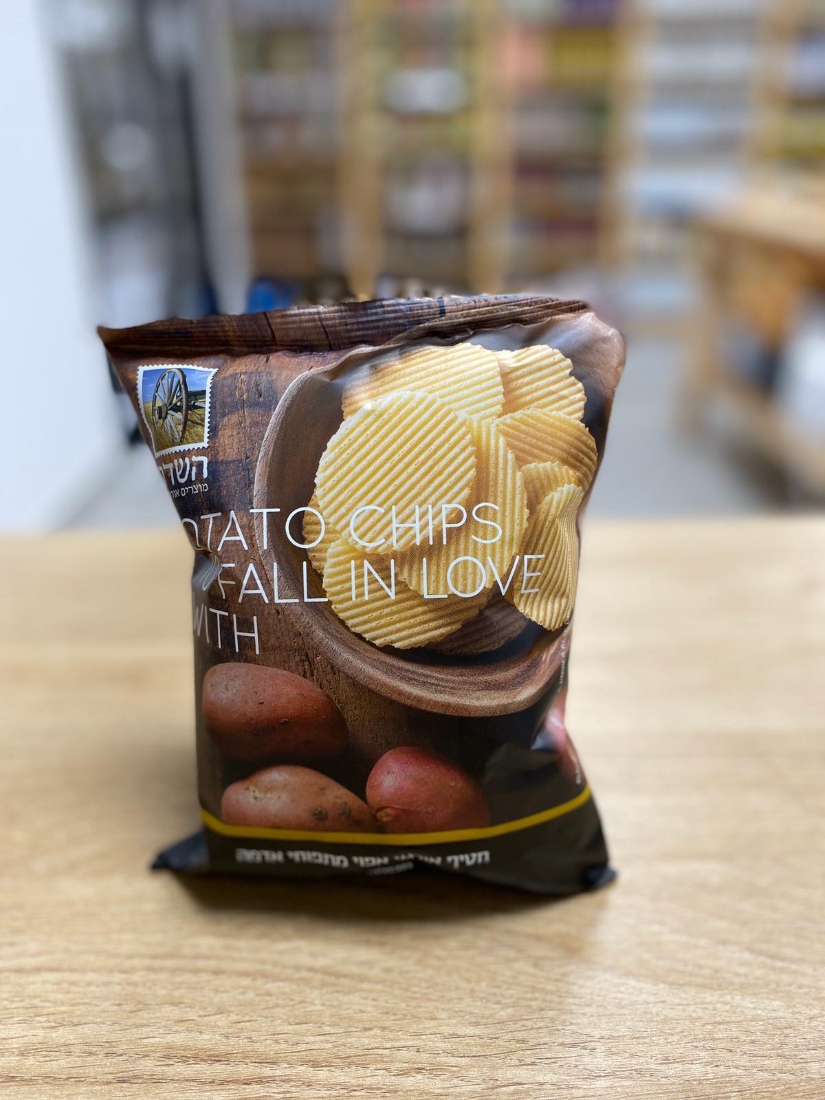 חטיף אורגני אפוי מתפוחי אדמה