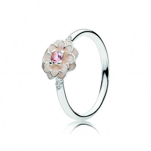 טבעת כסף פריחת הדליה PANDORA