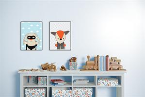 תמונות לחדר הילדים - זוג