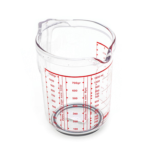 כד מידה אקרילי 1 ליטר