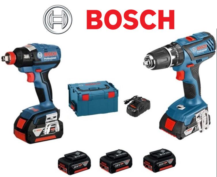 סט בוש BOSCH GSB 18 PLUS + GDX 18V-LI EC