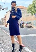 שמלת סריג נועה