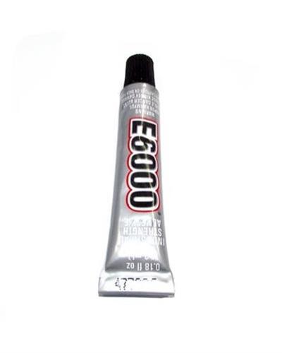 """דבק E-6000 בשפורפרת  5.3 מ""""ל"""