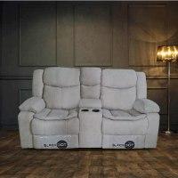 ספה 2 מושבים ג'ק מרלו (בד אפור)