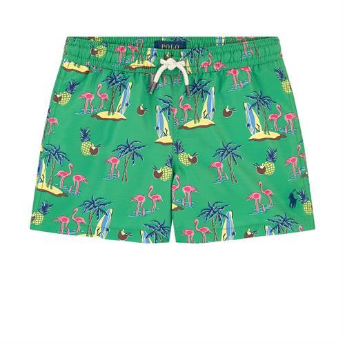בגד ים טרופי ירוק 2-7