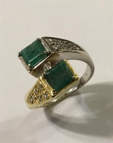טבעת זהב 18k