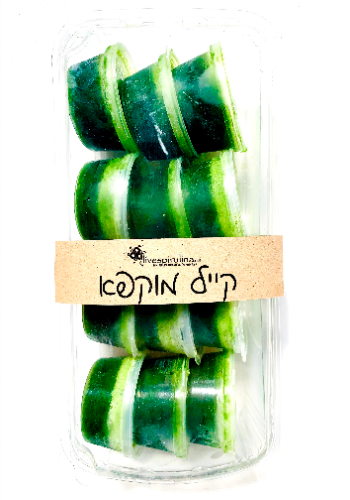 קייל כרוב על בשייק ירוק