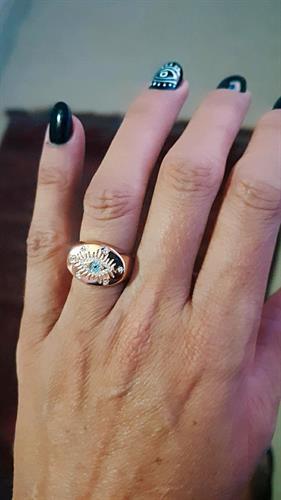 טבעת רוז עין