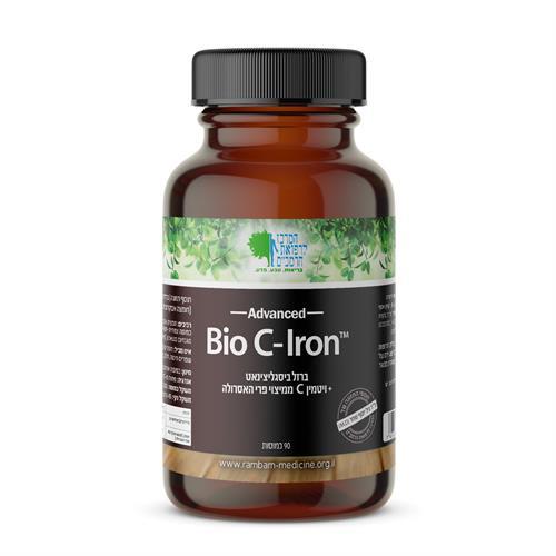 ברזל ביסגליצינאט + ויטמין C ממקור טבעי (היחיד בישראל!) 90 כמוסות