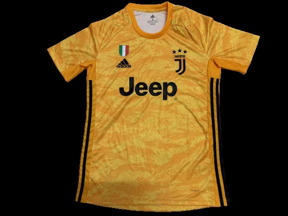 חולצת שוער יובנטוס  הצהובה 2020