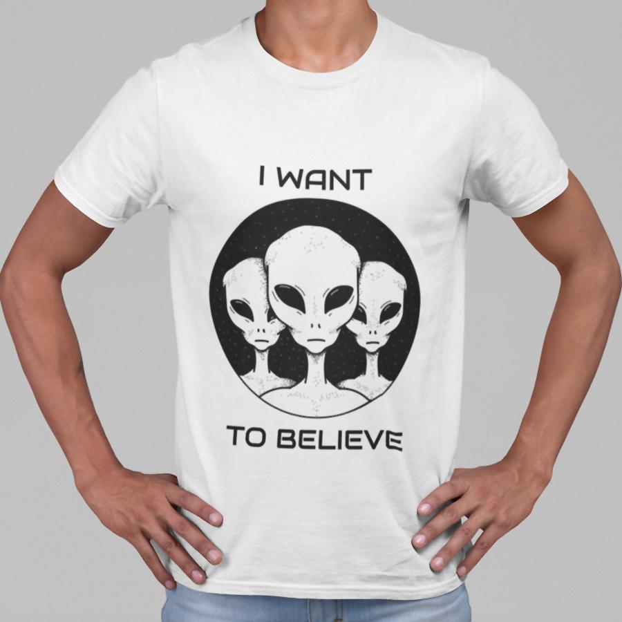 חולצת טי - I Want To Believe