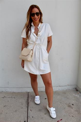 שמלת סיה לבנה