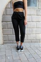 מכנסי שיילו צבע שחור