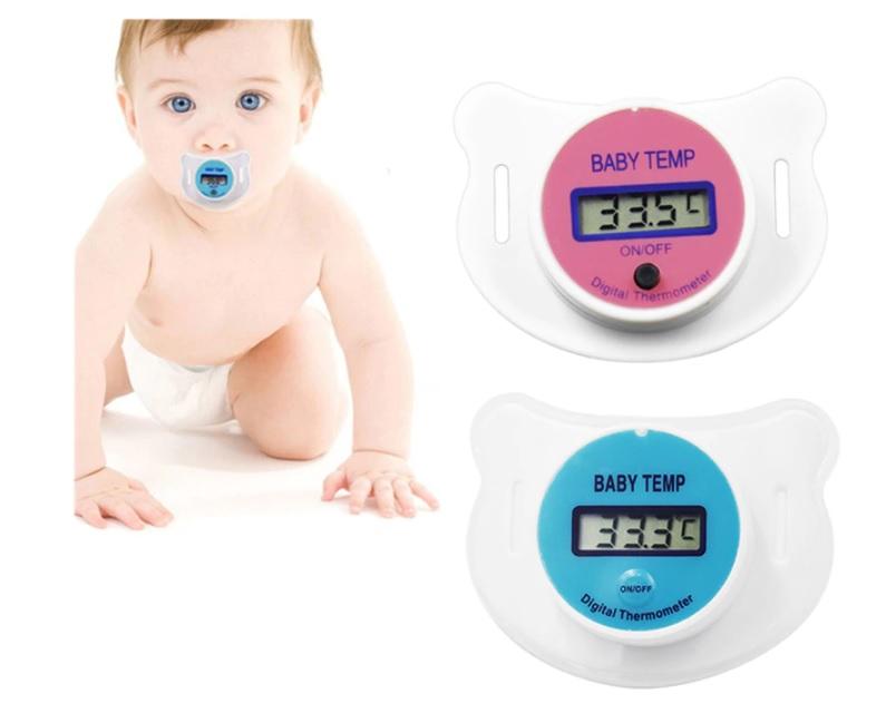 מוצץ מודד-חום לתינוק