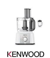 KENWOOD מעבד מזון + בלנדר דגם FDP65.630WH