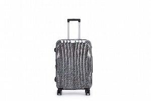 סט 3 מזוודות איכותיות פוליקרבונט TESLA - צבע שחור