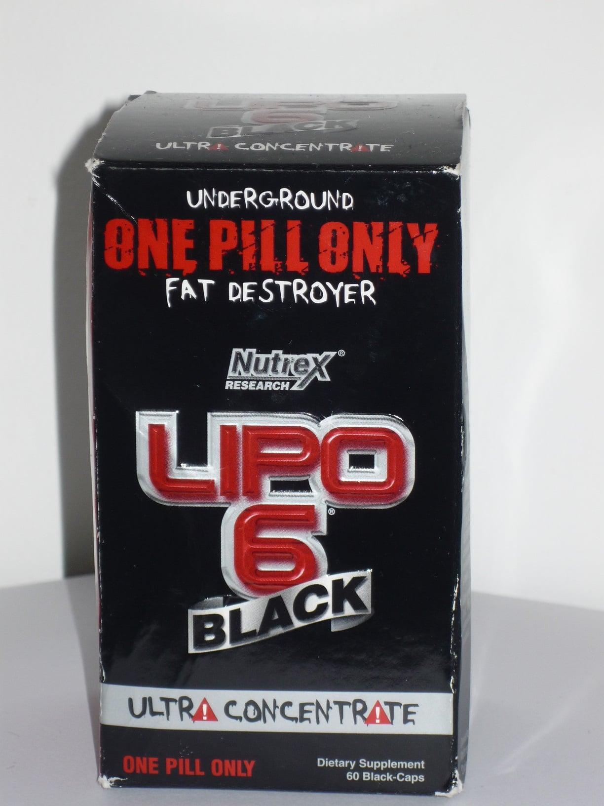שורף השומן לחיטוב LIPO 6 שחור אולטרה מרוכז (60 קפסולות)