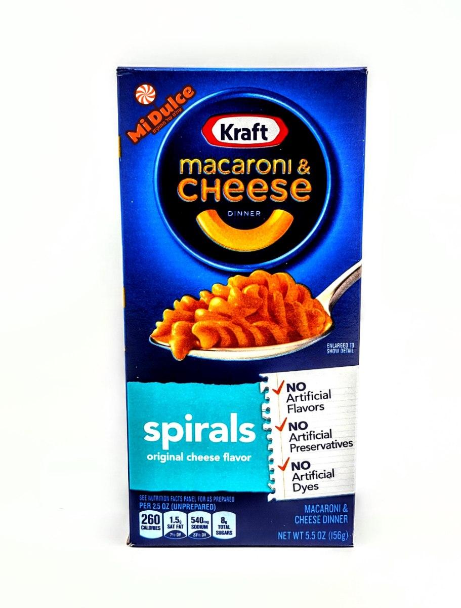 Kraft מק & צ'יז ספירלה
