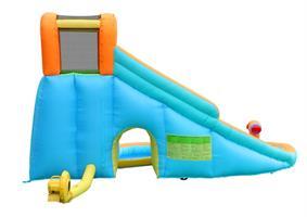 מתקן קפיצה ומים מגלשת מים בריכה ותותח הפי הופ - 9117 - Water Slide With Pool And Cannon Happy Hop