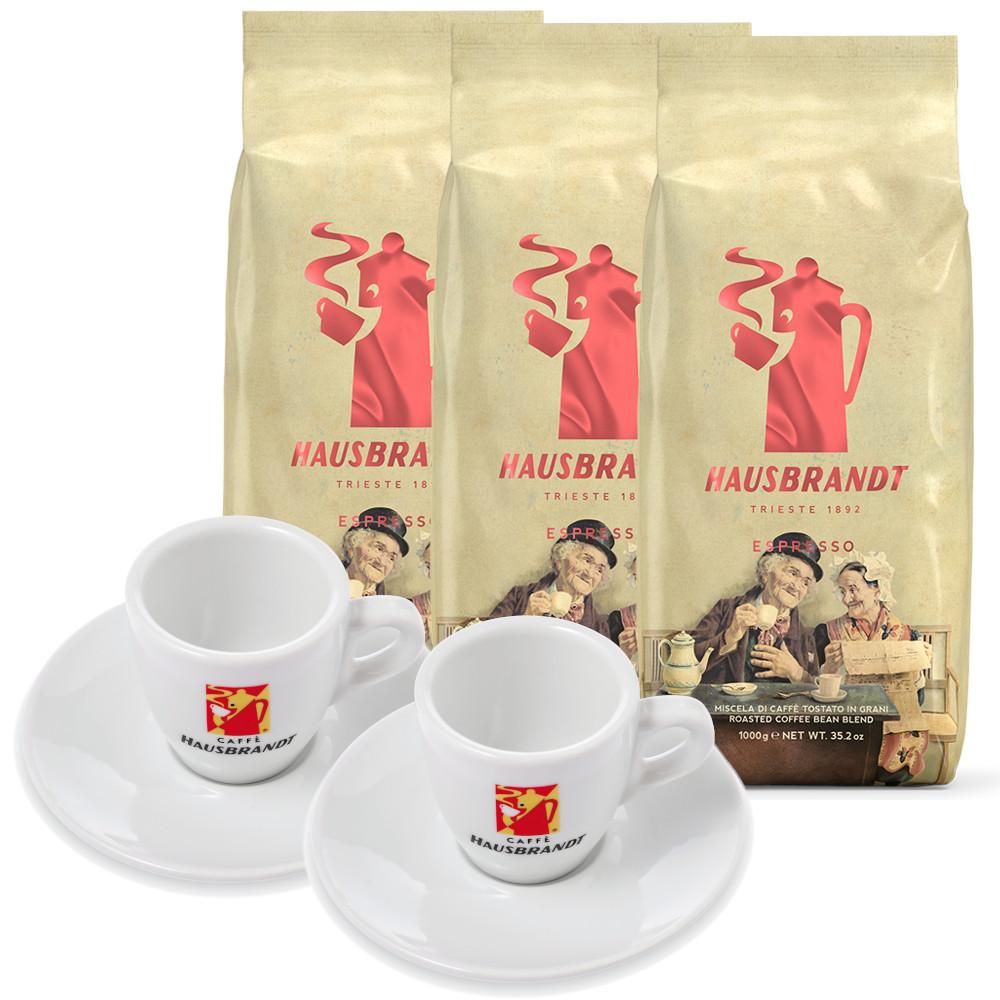 3 קג פולי קפה האוסברנדט אספרסו Hausbrandt Espresso