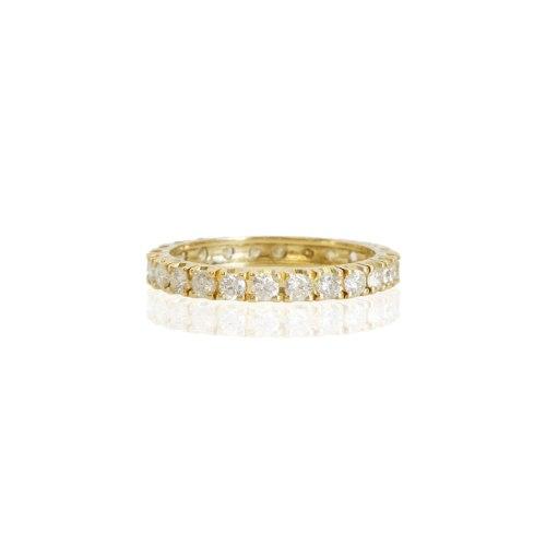 טבעת יהלומים 1 קראט