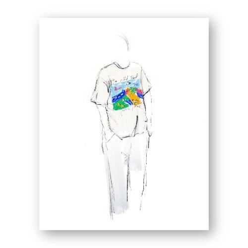 איור אופנה #12