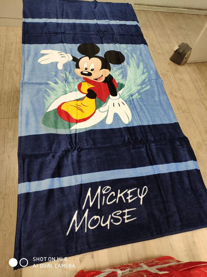 מגבת חוף מיקי מאוס