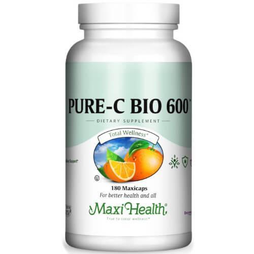 -- ויטמין C-600 -- מכיל 90 טבליות, Maxi Health