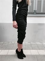 שמלת לורן אפור כהה