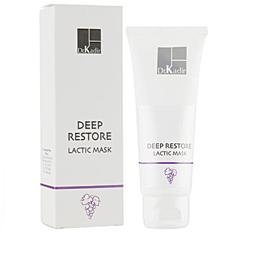 מסכת לקטית להרגעה ומיצוק עור הפנים -  Dr. Kadir Deep Restore Lactic Mask