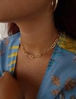 שרשרת זהב לירי